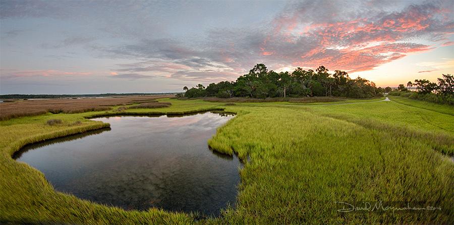 Wakulla Beach Marsh Pano