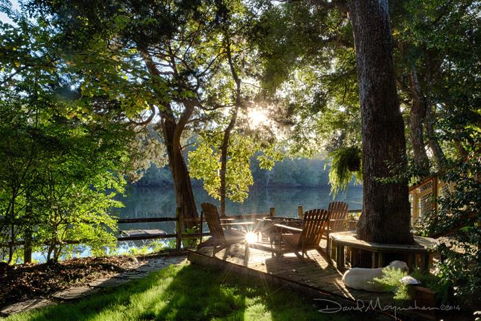 Choctaw Lodge River Deck