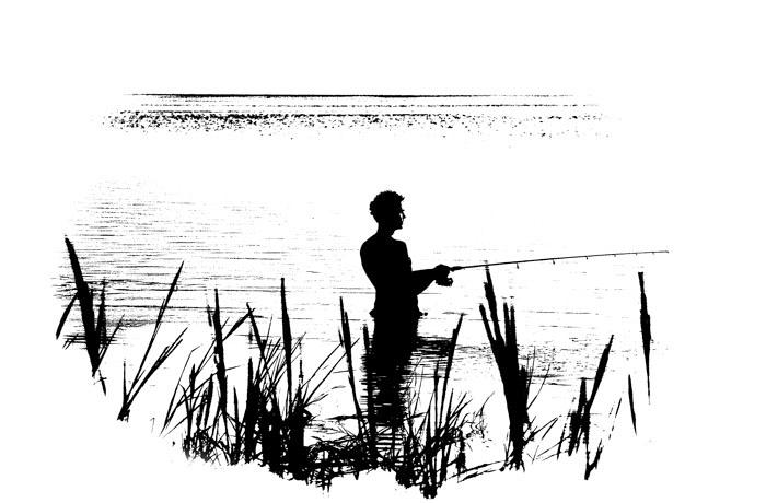 Oil Blot Fisherman