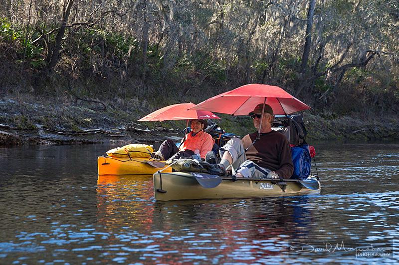 Kayak Umbrella Dudes
