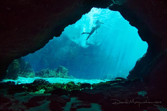 Swimming at Jackson Blue