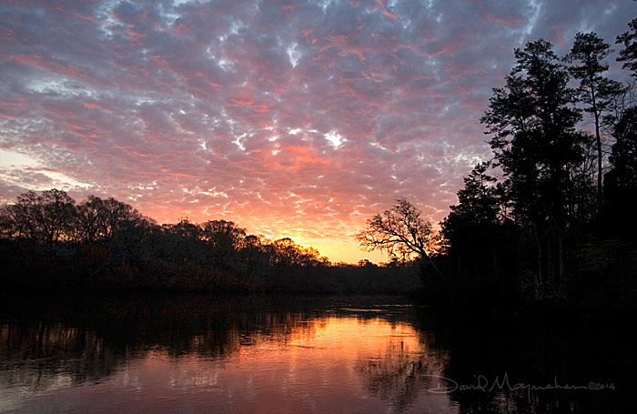 Choctawhatchee River Sunset