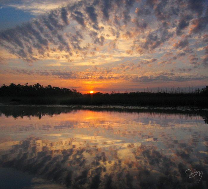 Dead River Sunrise