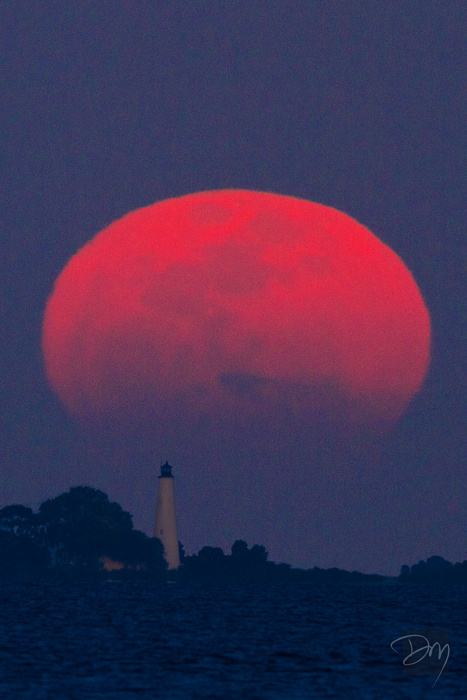 Big Moon Lighthouse